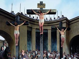 Passionsfestspiele Oberammergau: Kreuzigungsszene
