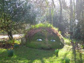 Lost Garden of Heligan – Garden gnome