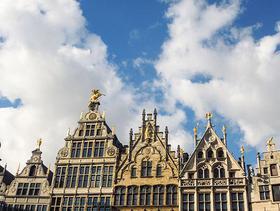 Grote Markt in Antwerpen – Häuserspitzen