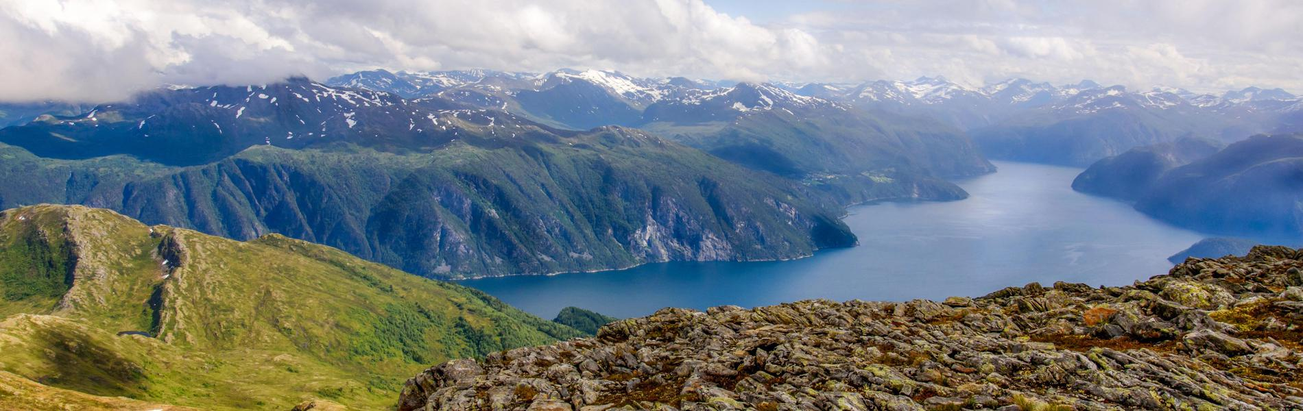 Fjordlandschaft in Norwegen