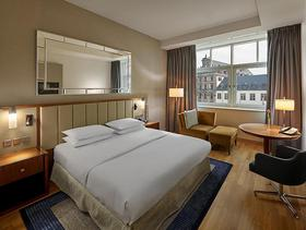 Hotelzimmer im Hilton Cologne