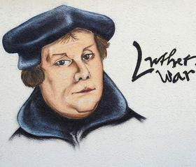 Street Art von Martin Luther