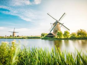 Windmühlen in Friesland