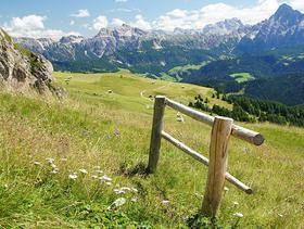 Südtiroler Bergpanorama