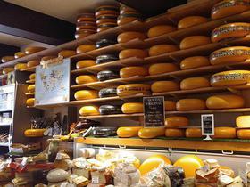 Käsetheke in den Niederlanden