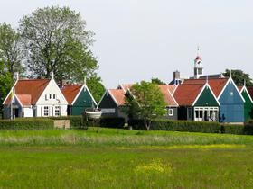 Kleine Gemeinde in Flevoland, Niederlande