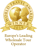 Europe's Leading Wholesale Tour Operator 2018 World Travel Awards Winner