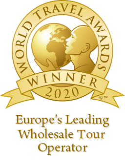 Europe's Leading Wholesale Tour Operator 2020 World Travel Awards Winner